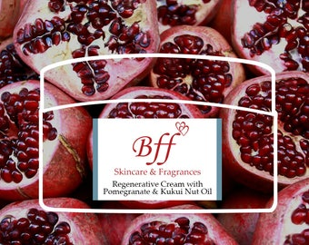 REGENERATIVE CREAM with Pomegranate & Kukui Nut Oil