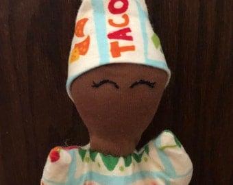 Taco Tuesday Saul'ly Pocket Doll