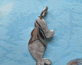 Sea Maiden pendant 925 sterling silver, Mermaid Molly 5, manga, Sea, lake, ocean, fish, whale, cute