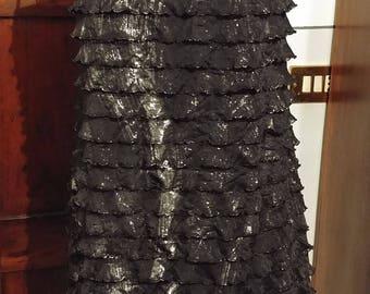 Black silver Dress