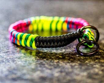 Fishtail Paracord Slip Collar