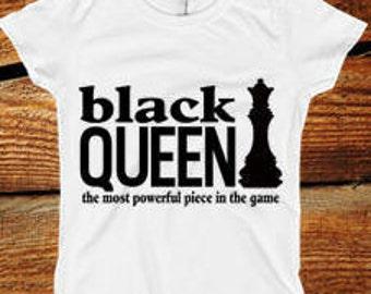 Black Queen t shirt