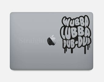 Rick and Morty - Wubba Lubba Dub Dub | Vinyl Decal for Car, Decoration, Electronics