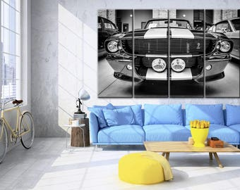 Ford Mustang canvas, Ford Mustang, Shelby canvas, Shelby gt500, Shelby gt500 cavnas, Eleanor canvas, Shelby print, Shelby wall art, Shelby