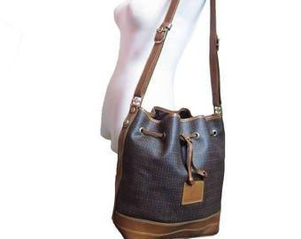 Fiber Street VINTAGE! classic beautiful details and metal design bag