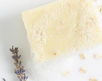 Organic Lavender + Oatmeal Soap