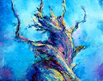 Praise to the dried tree