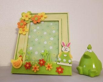 Small photo frame rabbits