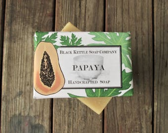 PAPAYA soap skin lightener, Palm Free...Black Kettle