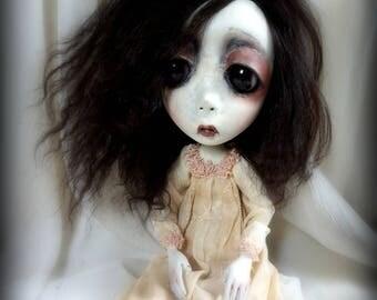 Loopy Southern Gothic Art Doll Victorian Dark Goth Ghostly Clarice