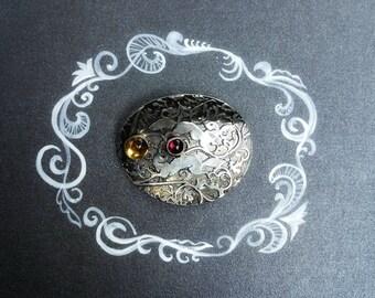 Sterling silver Squirrel necklace. Wild life necklace. Conversation piece