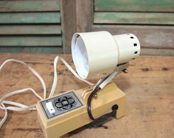 Free Shipping  Fun little light  bed or reading lamp Night light Cream Ivory Off White By Cosmo
