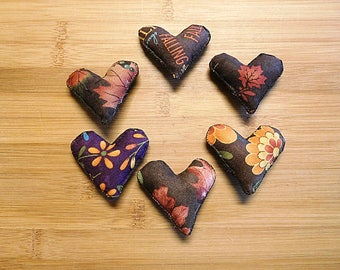 Fall Heart Bowl Fillers Thanksgiving Day Ornaments Holiday Decorations