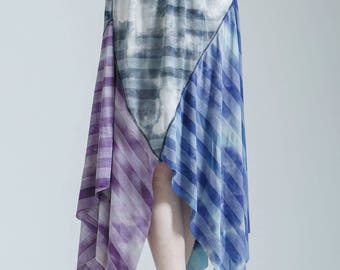 Patchwork Gypsy Tie Dye Skirt