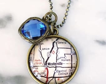 Westerville Strong Charm Necklace