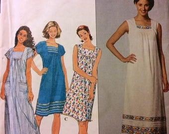 Uncut Sewing Pattern Simplicity 8769 Misses' Dresses Bust 36-40 inches Uncut Complete