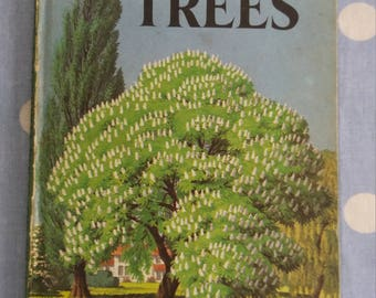 Vintage childrens book 1963  - Ladybird Book of Trees
