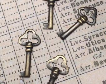 Skeleton Key Charms