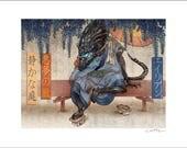 Xenomorph Zen Garden- 11 x 14 Signed Print
