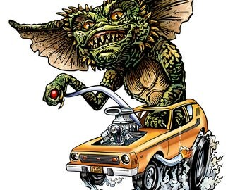 Speed Demon- Limited Edition Signed Print
