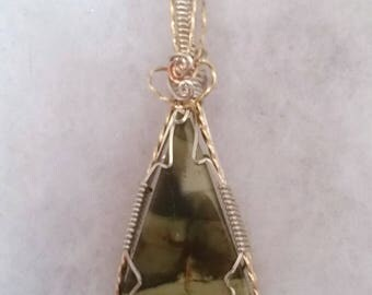 4252 Rare Morrisonite Pendant