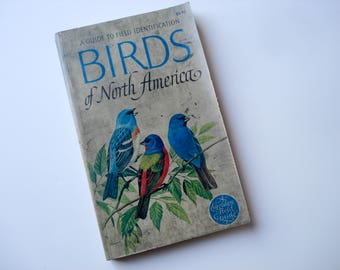 Birds of North America - 1966 field guide