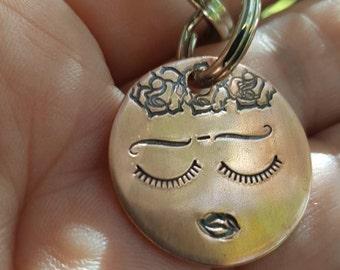 Frida keychain, Frida whimsical keychain