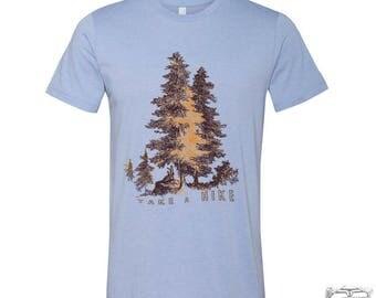 Mens TAKE A HIKE T-Shirt s m l xl xxl (+ Color Options)