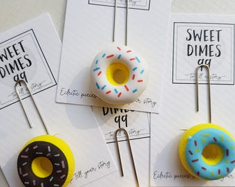 Planner Clips - Donuts - Various Colours