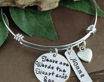 Remembrance Bracelet, Personalized Charm Bracelet, Memorial Bracelet, Loss of Child, Bereavement Bracelet, Funeral Gift, Loss of Loved one