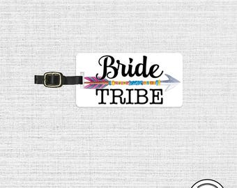 Luggage Tag Metal Tag Single Tag , Bridesmaids, Maid or Matron of Honor, Man of Honor wedding party gift