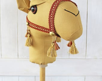 "Camel Ride-On Toy ""Jamal"" Golden Brown Standard Size Ready to Ship"