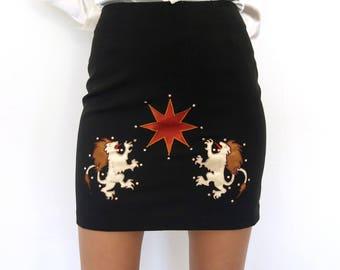 Leo Skirt / Zodiac Astrology Skirt / Medium