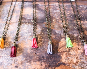 Tassel Necklaces - Bright Necklaces
