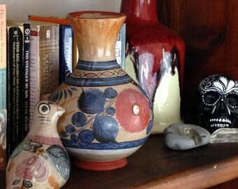 Mexican Pottery Burnished Tonala Vase