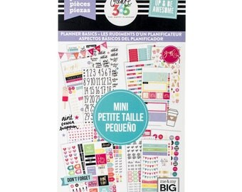 Planner Basics Create 365 Happy Planner Sticker Value Pack Mini (1768/Pkg) Me & My Big Ideas (PPSV-42-3048)