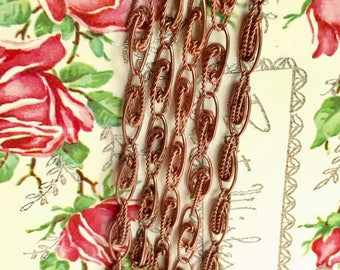 "10 Vintage Charm Chain Bracelet Lot, Starter Bracelets ""STARTER"" LOT, Sarah Coventry,copper coated steel Bracelets,Jewelry Maker G43"