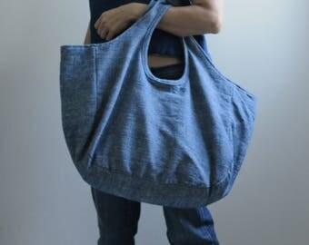 Summer Sale 20% Off - Indigo Tote Bag Si-mhok