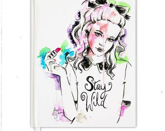 "Notebook ""Stay Wild"" 