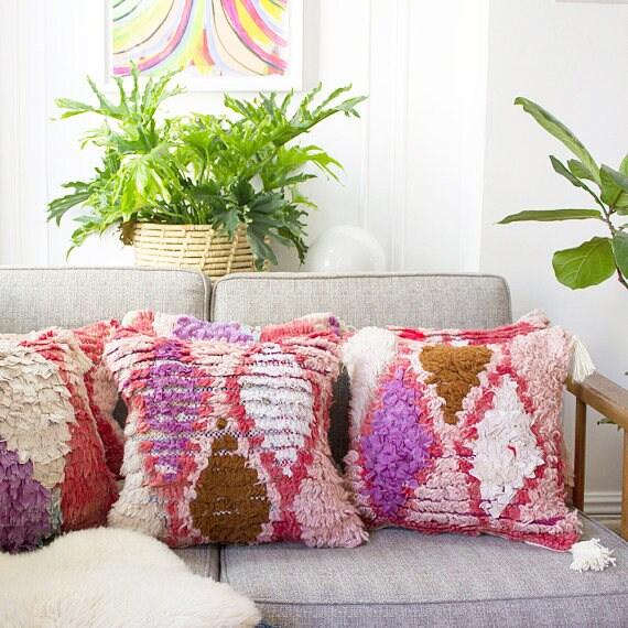 Pink Azilal Pillow No 3