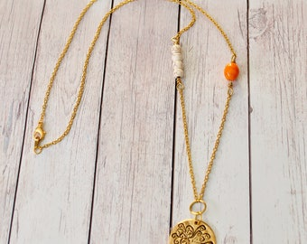 Giving Tree Boho Necklace