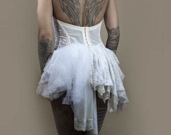 Tattered Lace Ballerina Top