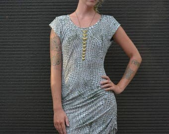 Dress | FREE SHIPPING | Urban & Festival Fashion | Animal Print | Sexy | Small Batch | Ethical Fashion |