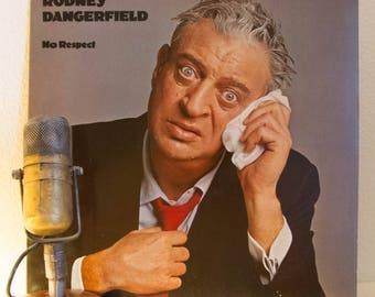 "ON SALE Rodney Dangerfield Vinyl LP 1980s Comedy Laughs  ""No Respect"" (Original 1980 Casablanca w/""No Respect"" & ""Son of No Respect"") Vintag"