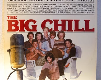 ON SALE The Big Chill Lp 1960s Soul Pop Rock and Roll Marvin Gaye Procol Harum Original Movie Soundtrack (1983 Motown Records)Vintage Vinyl