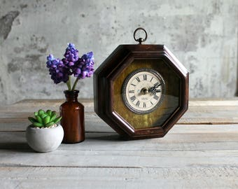 Vintage Desk Top / Wall Hanging / Clock