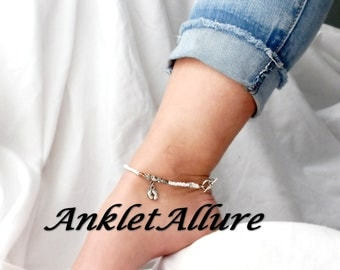 SURF n SAND Beach Ankle Bracelet Anklet Barefoot Anklets for Women GUARANTEED