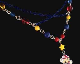 Chasing stars Mario necklace