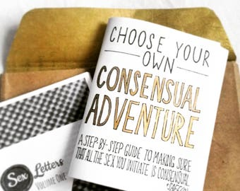 Choose Your Own Consensual Adventure zine