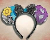 Progress Mouse Ear Headband with Bow